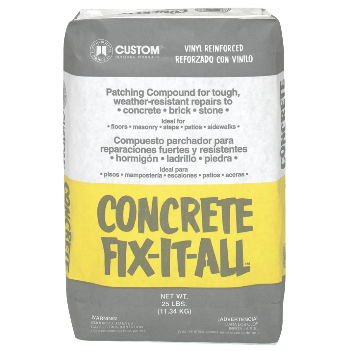 25LB CONCRETE FIXALL - DPCFL25 by Custom Buildng Prods