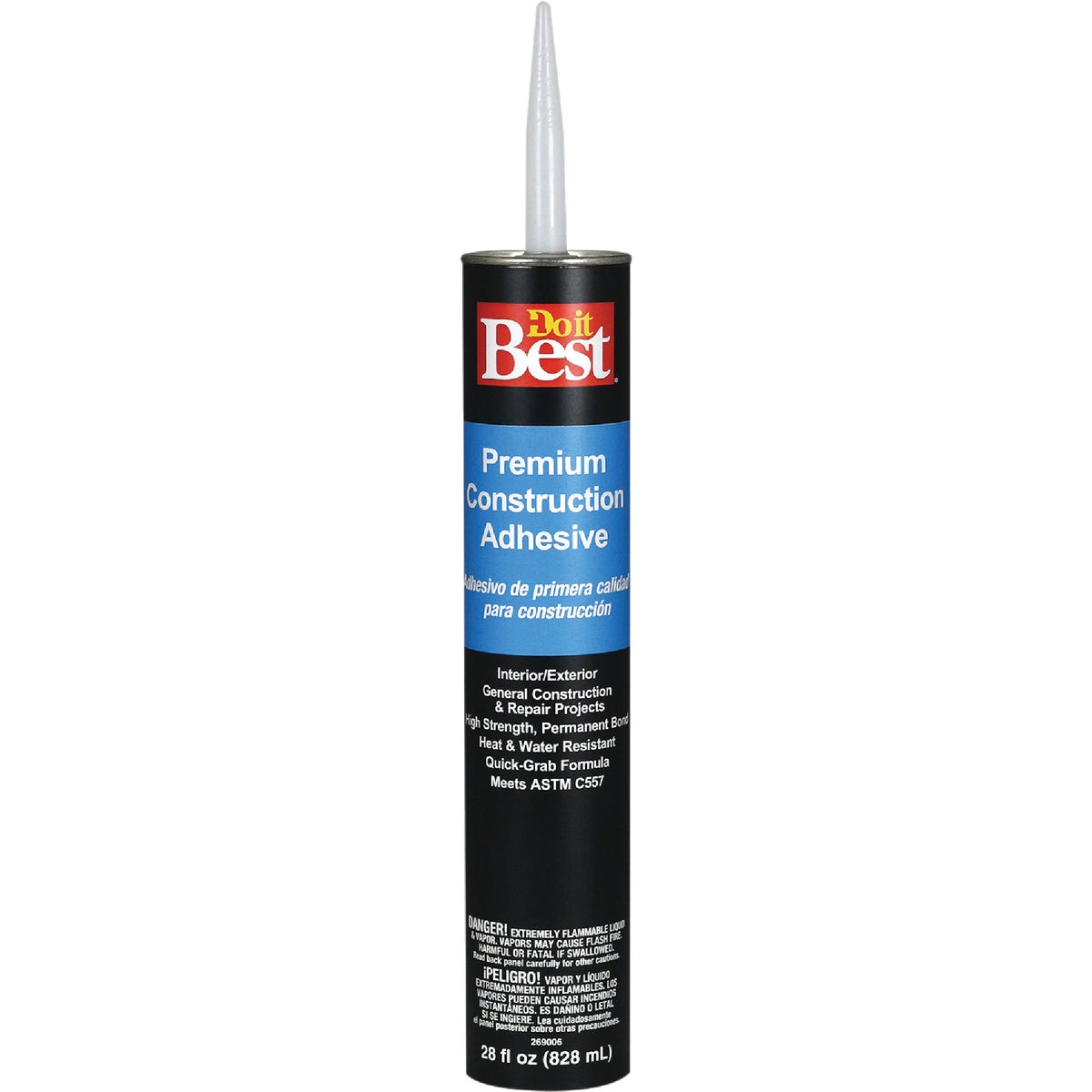 28OZ CONSTRCTN ADHESIVE - 26017 by Dap Inc