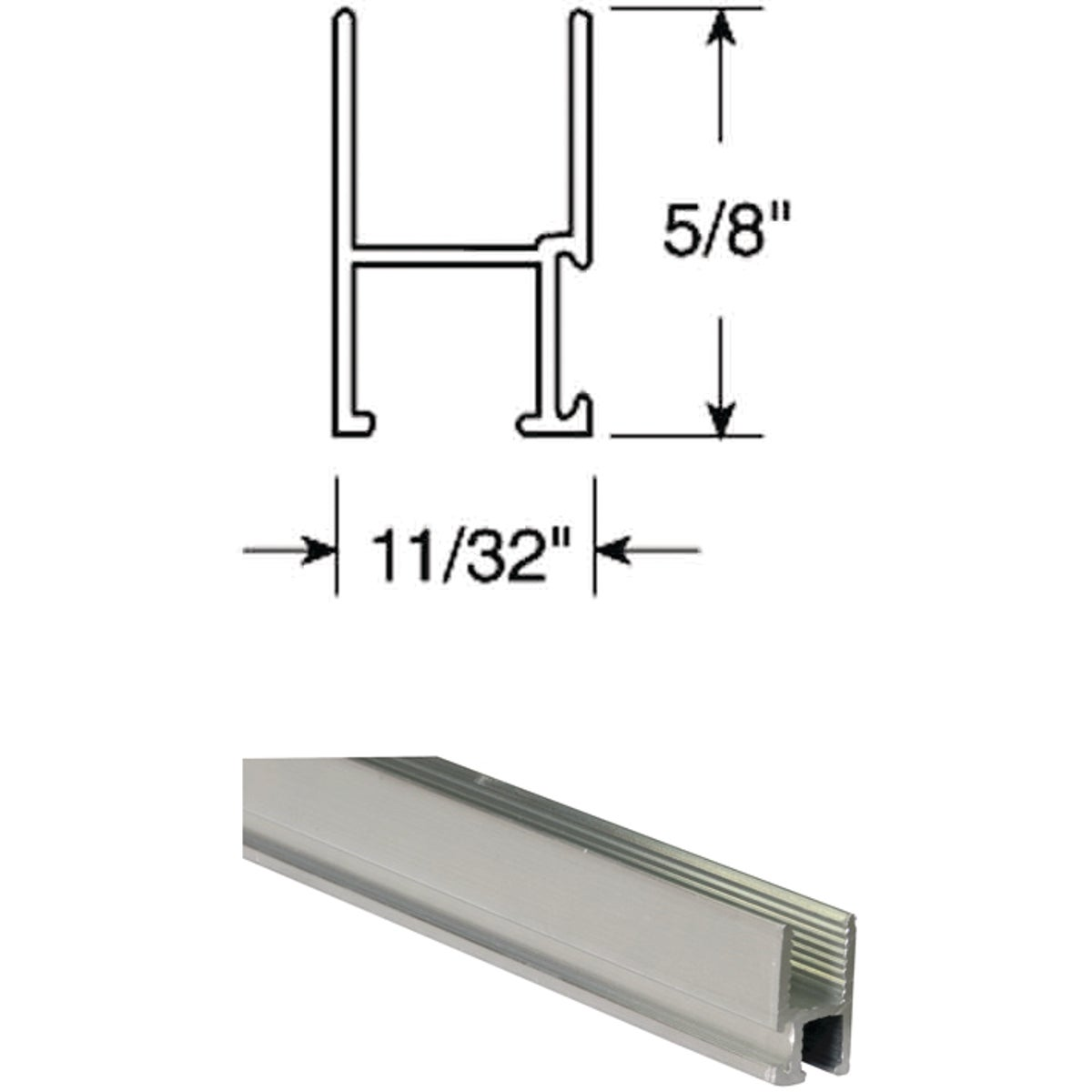 11/32X5/8 WINDOW FRAME - PL14189 by Prime Line Products