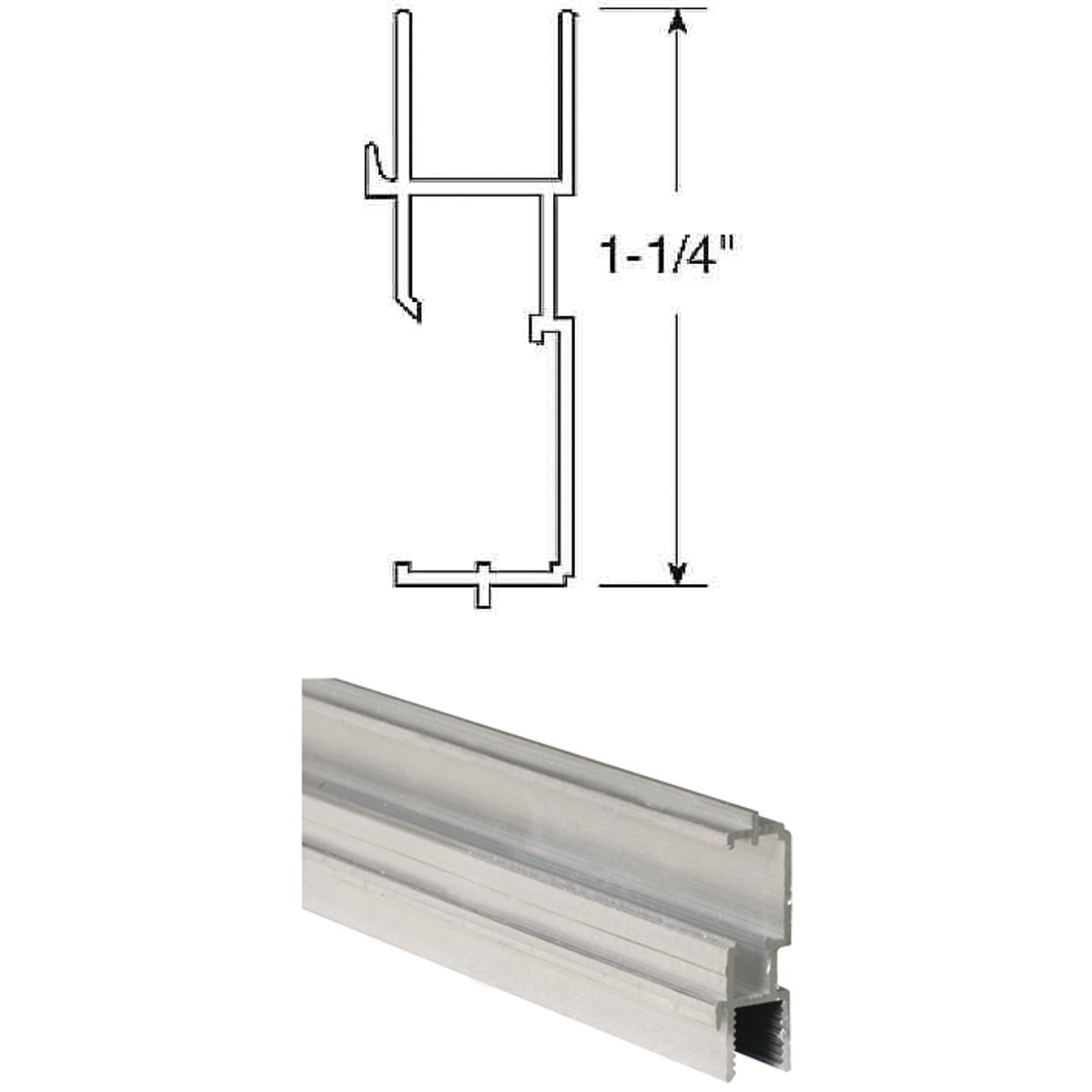 "1-1/4"" WINDOW FRAME - PL14192 by Prime Line Products"