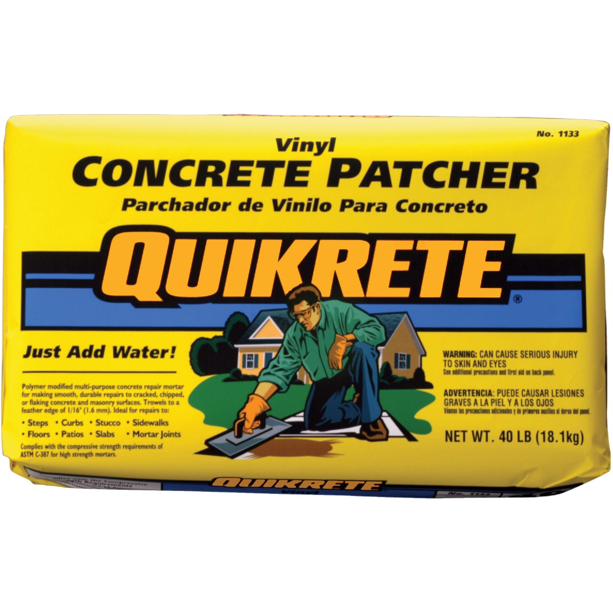 40LB VINYL CONCR PATCHER