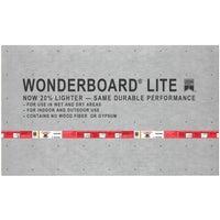 Custom Building Prod. 3X5X1/2 WONDERBOARD GCB60