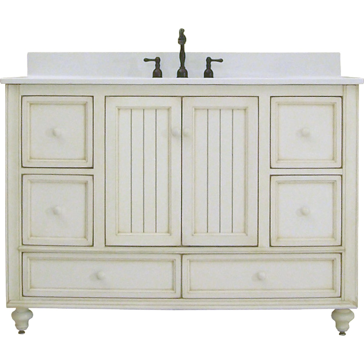 48X21 WH BSTL BCH VANITY - BB4821D by Sunnywood Products