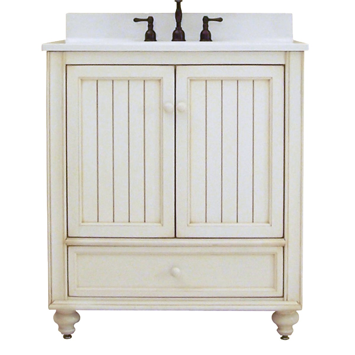 30X21 WH BSTL BCH VANITY - BB3021D by Sunnywood Products