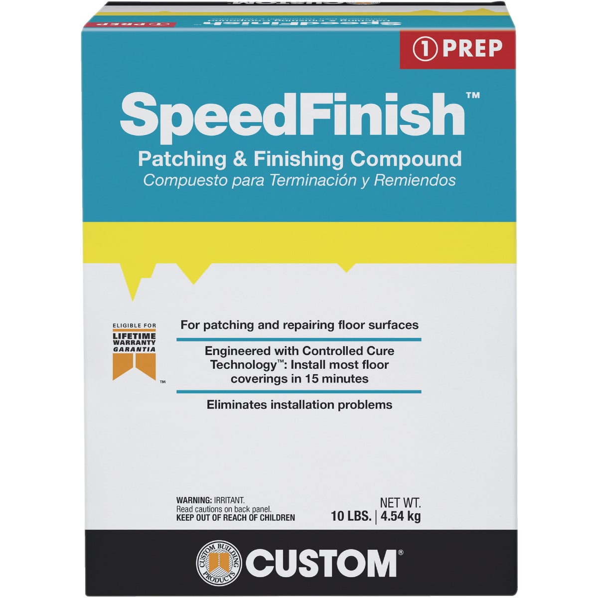 10LB SPEEDFNSH COMPOUND - SF10 by Custom Building Prod