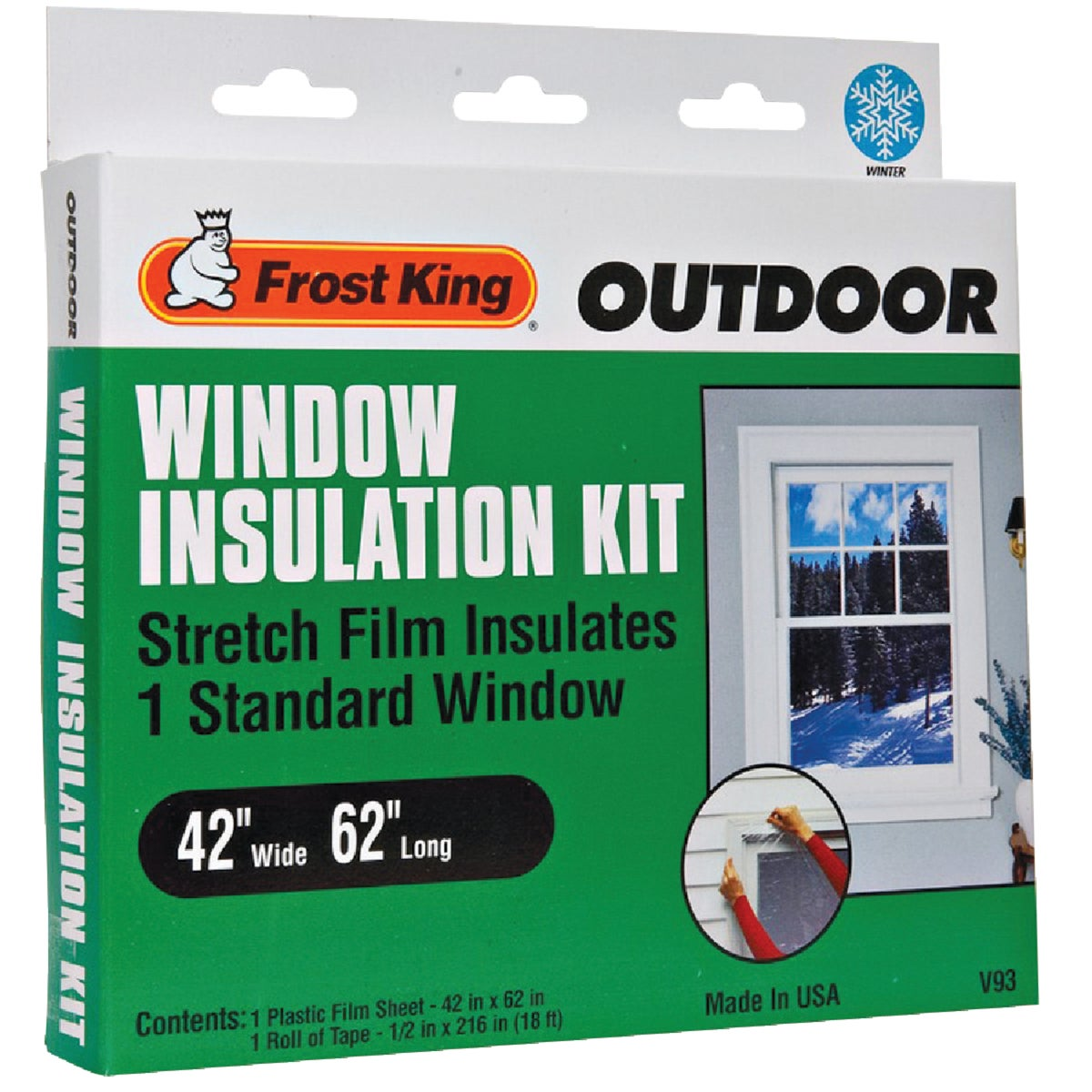 Thermwell Prods. Co. WINDOW STRETCH FILM KIT V93H