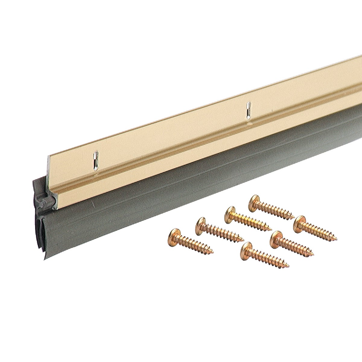 "36"" GOLD DV DOOR SWEEP - 05702 by M D Building Prod"