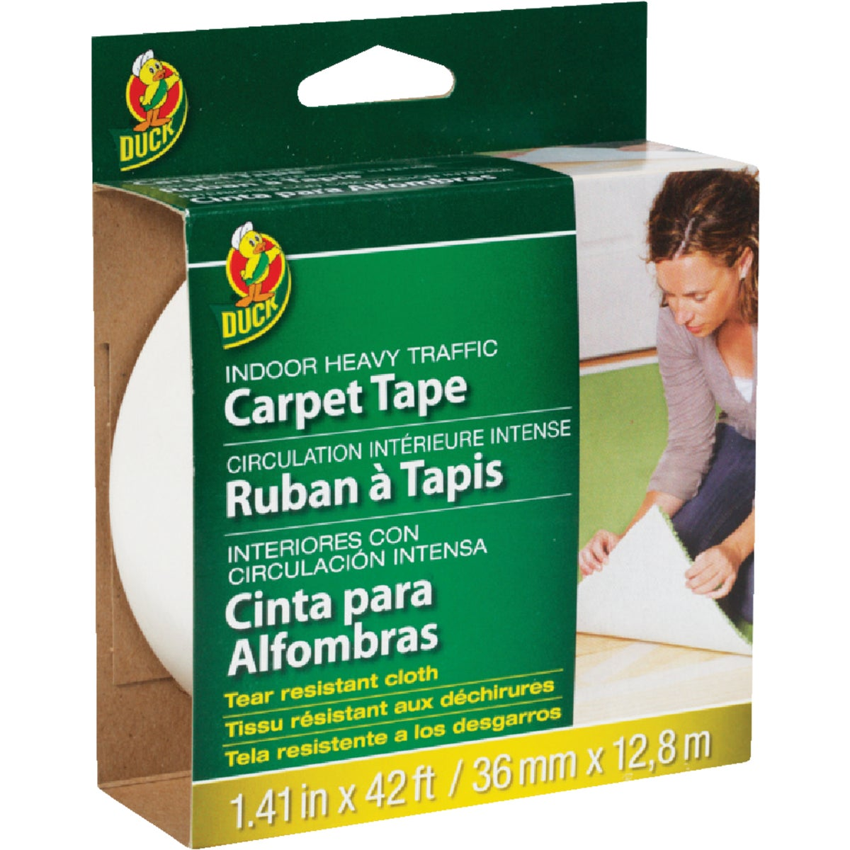 "1.5""X42'INDR CARPET TAPE - CT1030 by 3m Co"