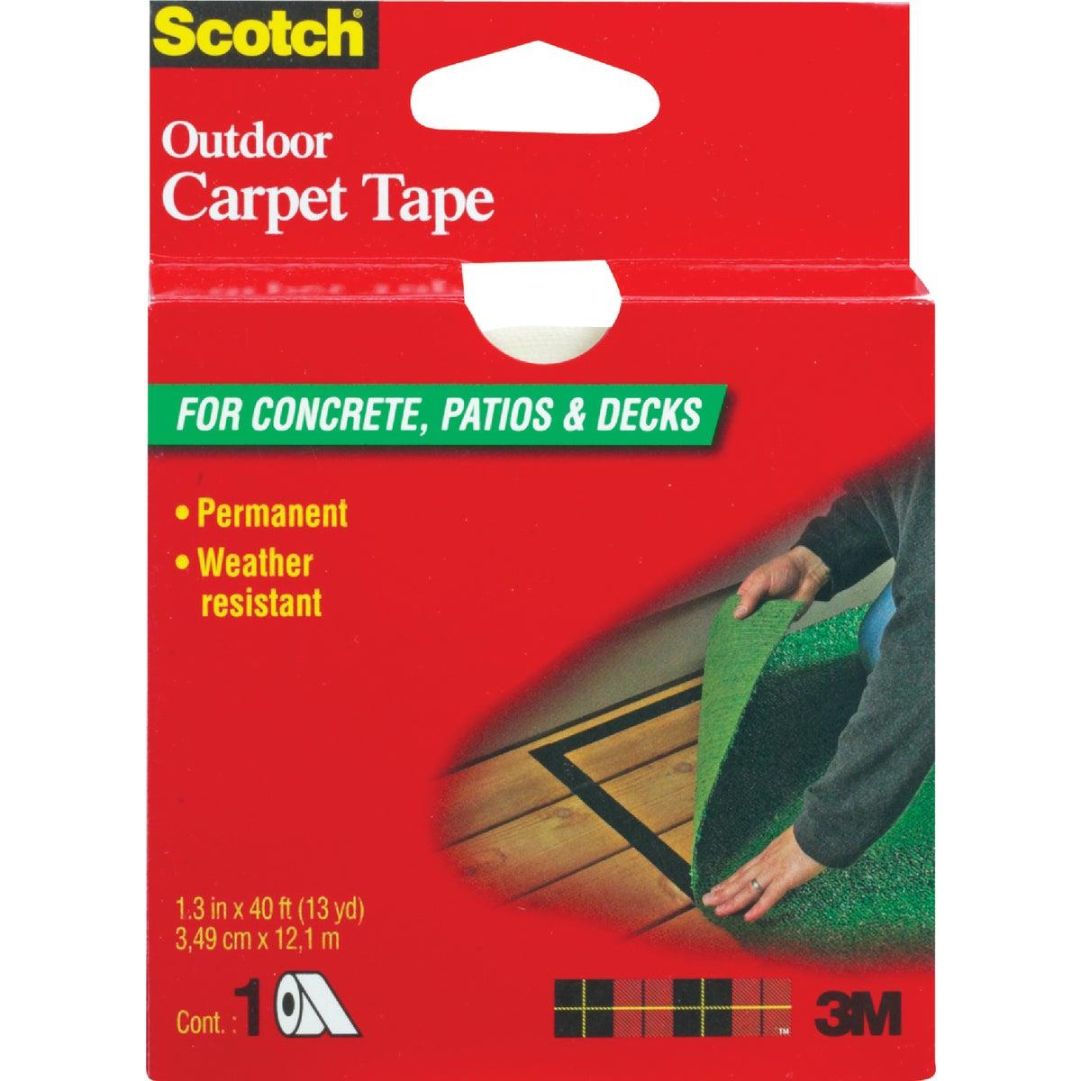 3M Scotch 1-3/8 In. x 40 Ft. Heavy Duty Carpet Tape