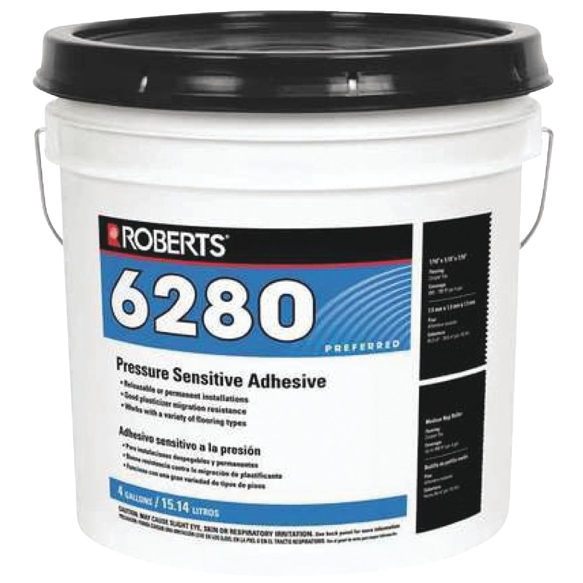 4GAL PRESS SENS ADHESIVE - R6280-4 by Qep Co Inc Roberts