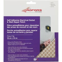 FibaTape Electrical Outlet Drywall Patch, FDW6503-U
