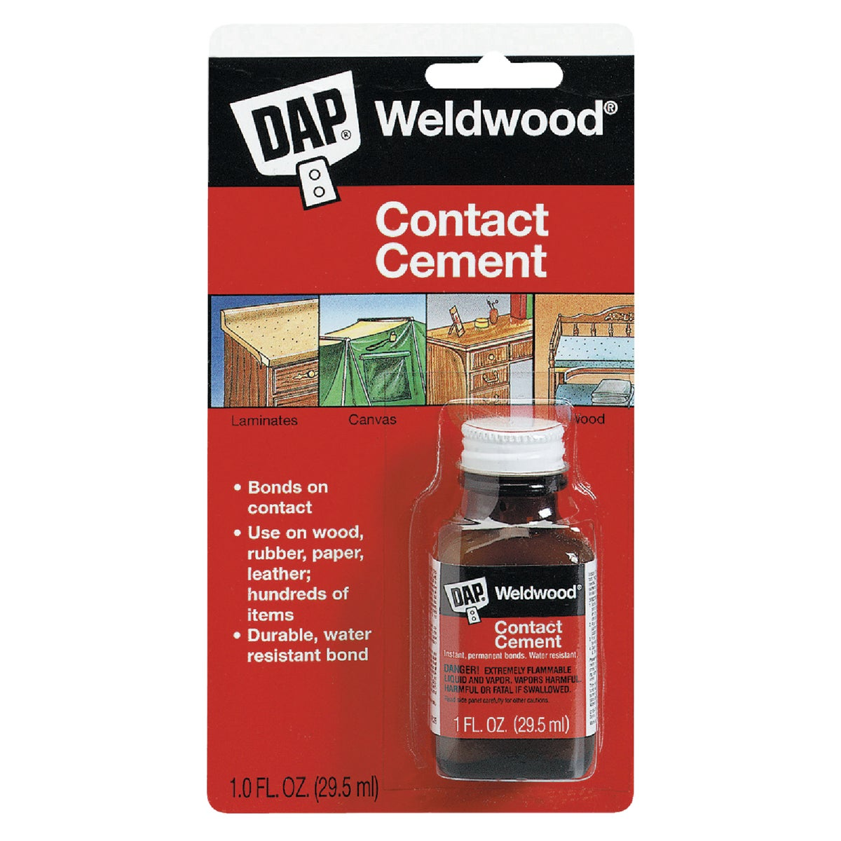 1OZ CONTACT CEMENT - 00102 by Dap Inc