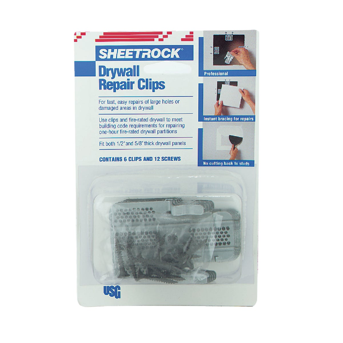 DRYWALL REPAIR CLIP - 380161 by U S Gypsum