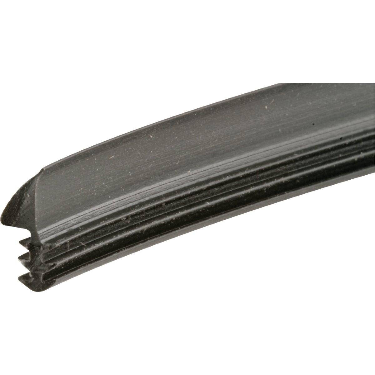 100' Black Glass Spline