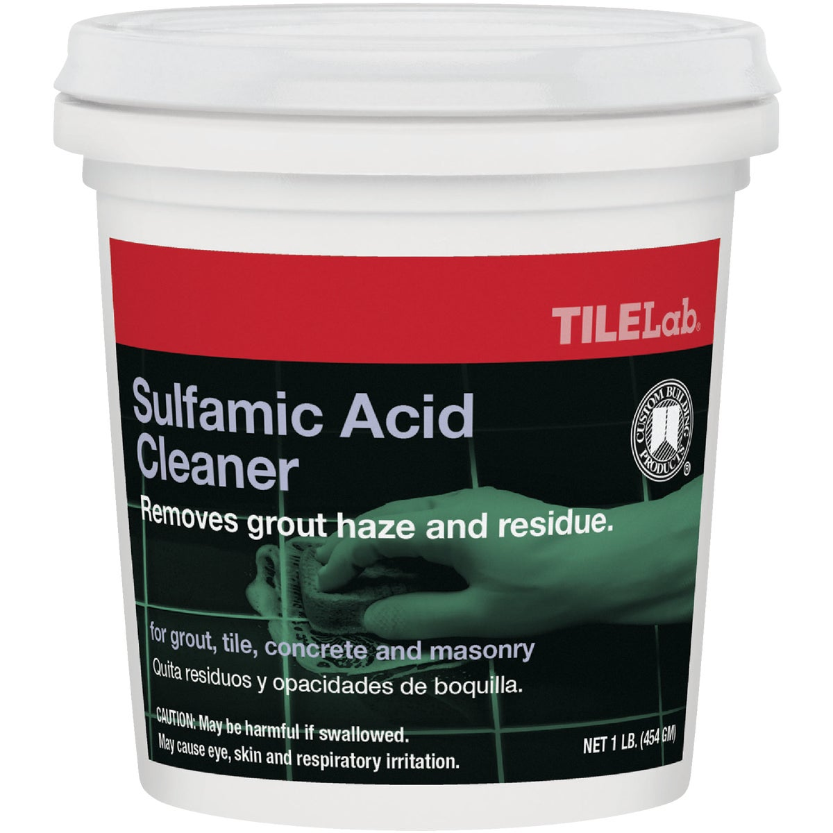 1LB SULFMIC ACID CLEANER - TLSACRA1 by Custom Building Prod