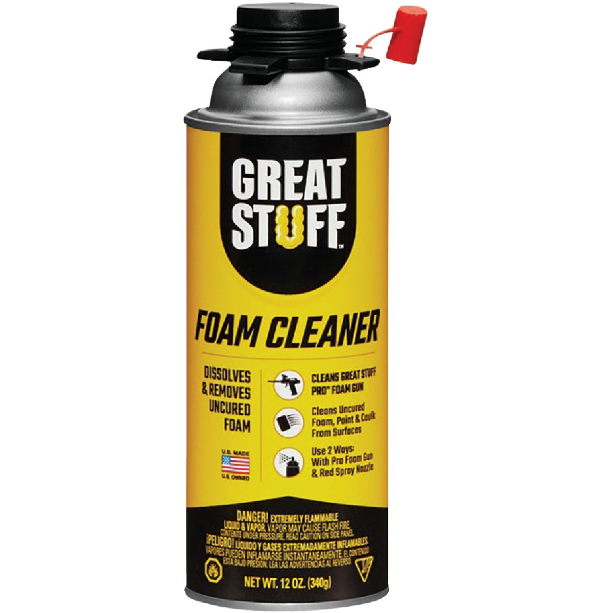 GREAT STUFF PRO 12 Oz. Foam Cleaner