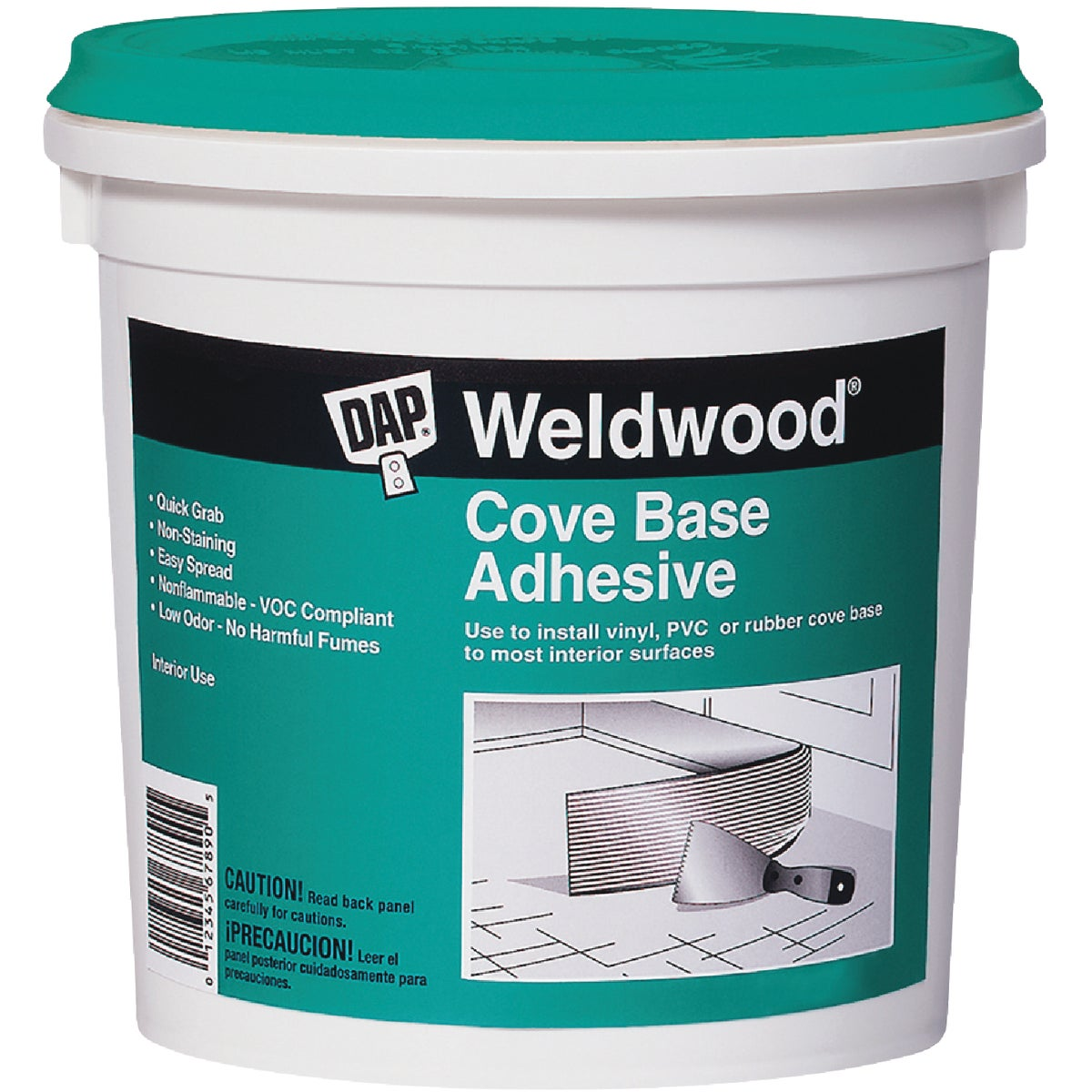 QT COVE BASE ADHESIVE - 25053 by Dap Inc