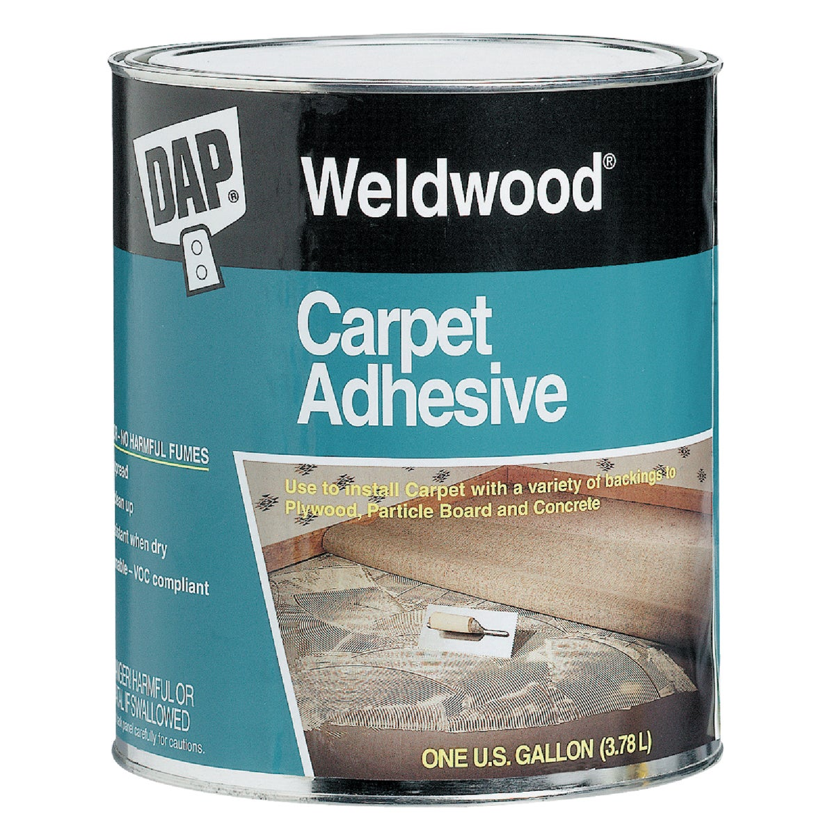 QT CARPET ADHESIVE - 00185 by Dap Inc