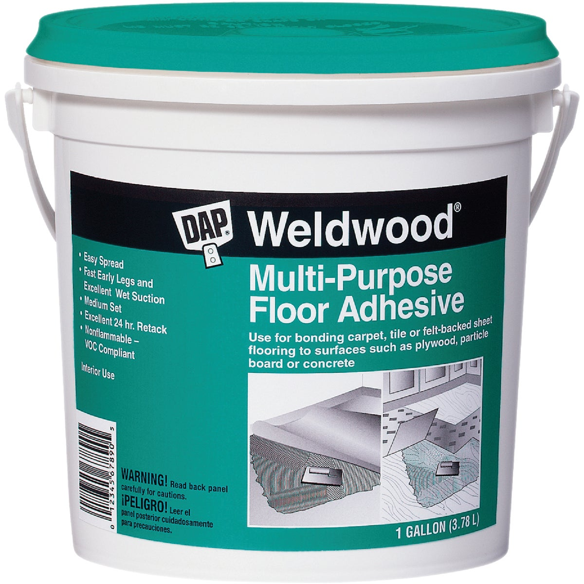 Gal Mp Floor Adhesive