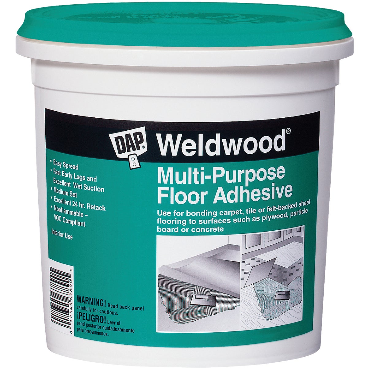 4GAL MP FLOOR ADHESIVE - 00144 by Dap Inc