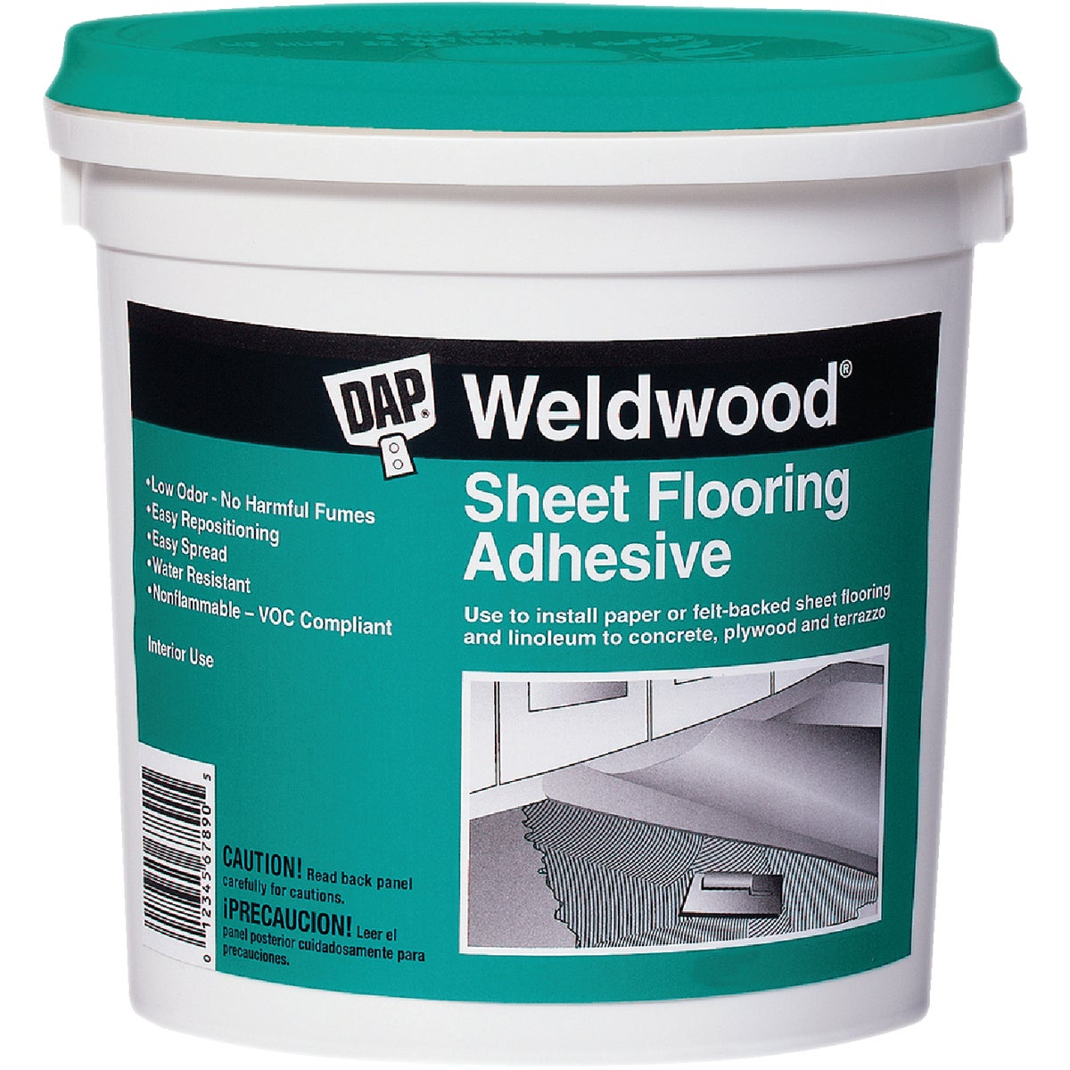 QT SHEET FLOOR ADHESIVE - 25176 by Dap Inc