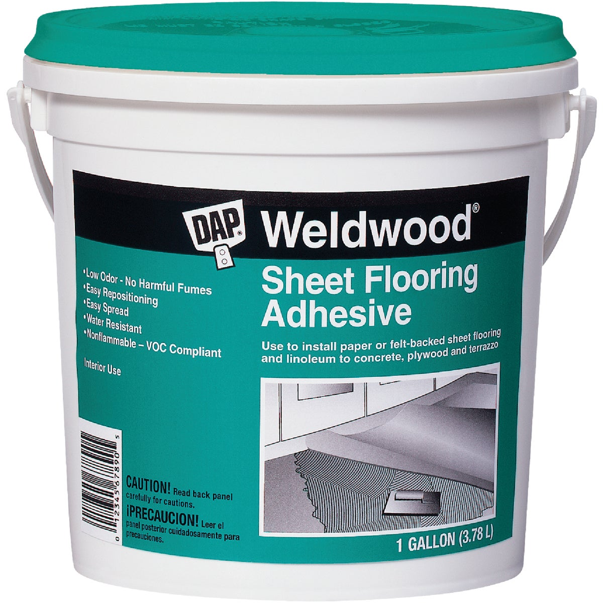 GAL SHEET FLOOR ADHESIVE - 25178 by Dap Inc