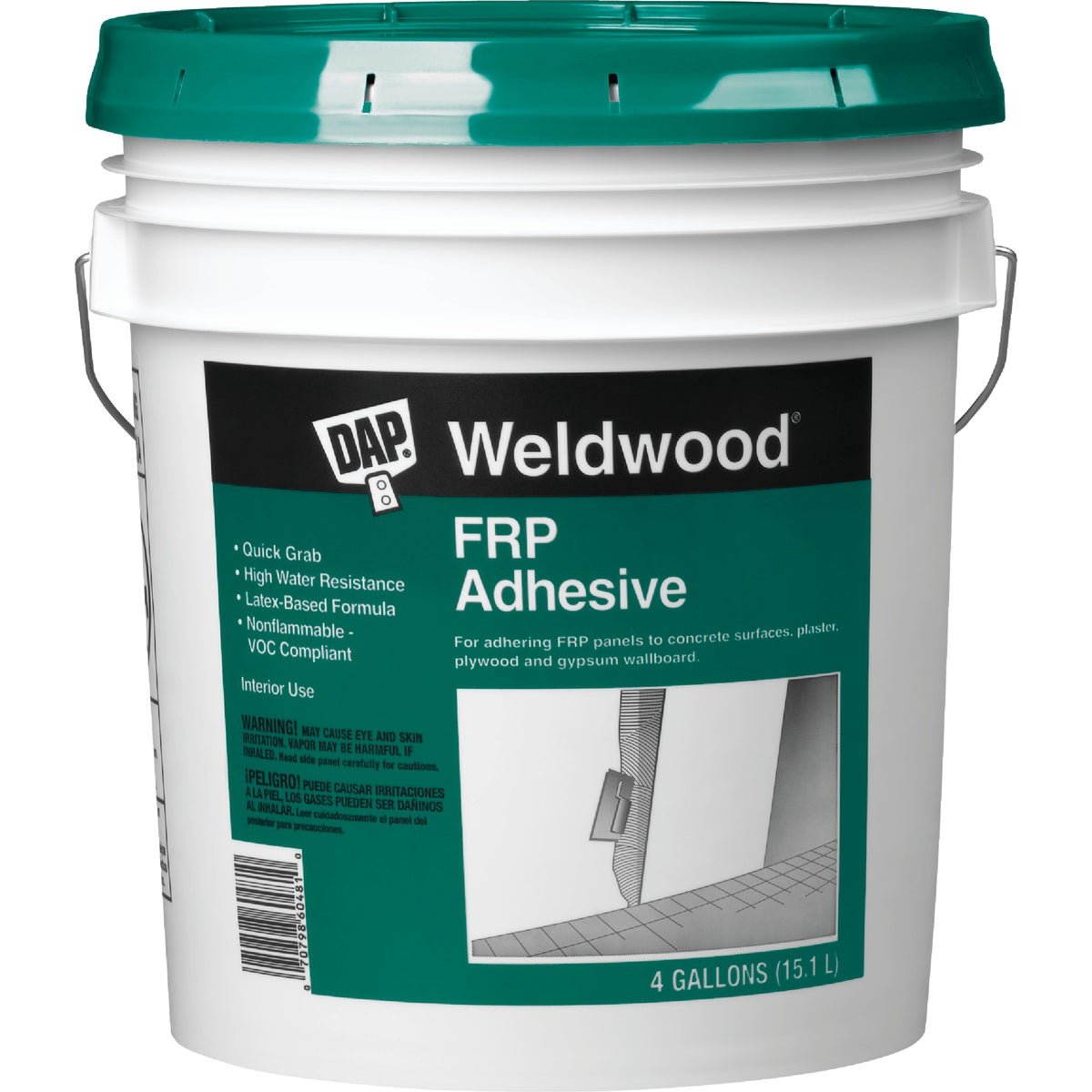 4GAL FRP PANEL ADHESIVE - 60481 by Dap Inc