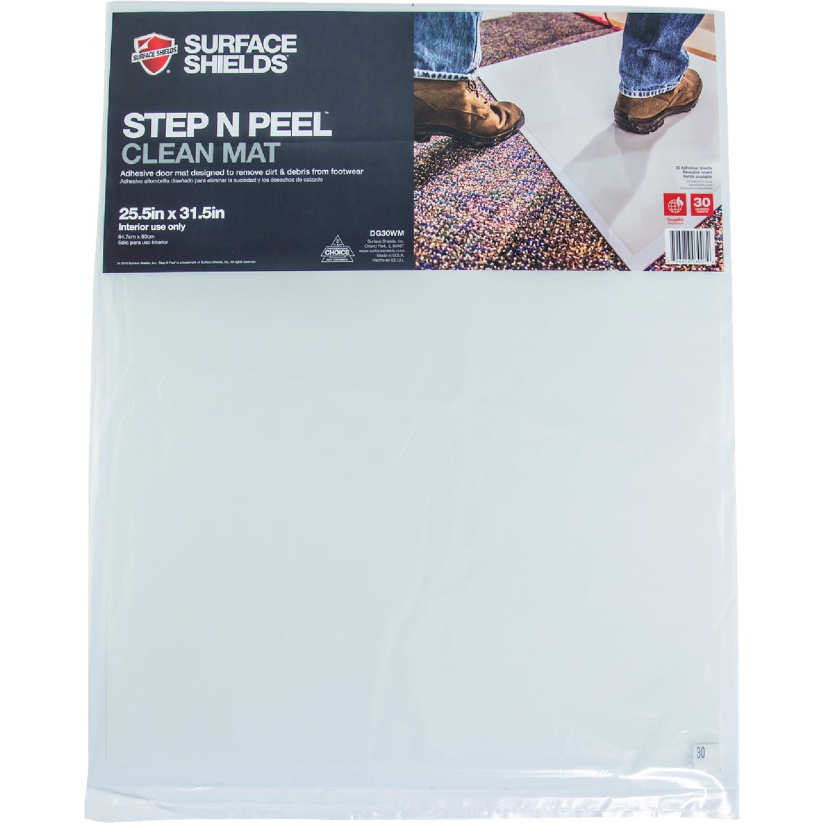 STEP N PEEL MAT - DG30WM by Surface Shields Inc