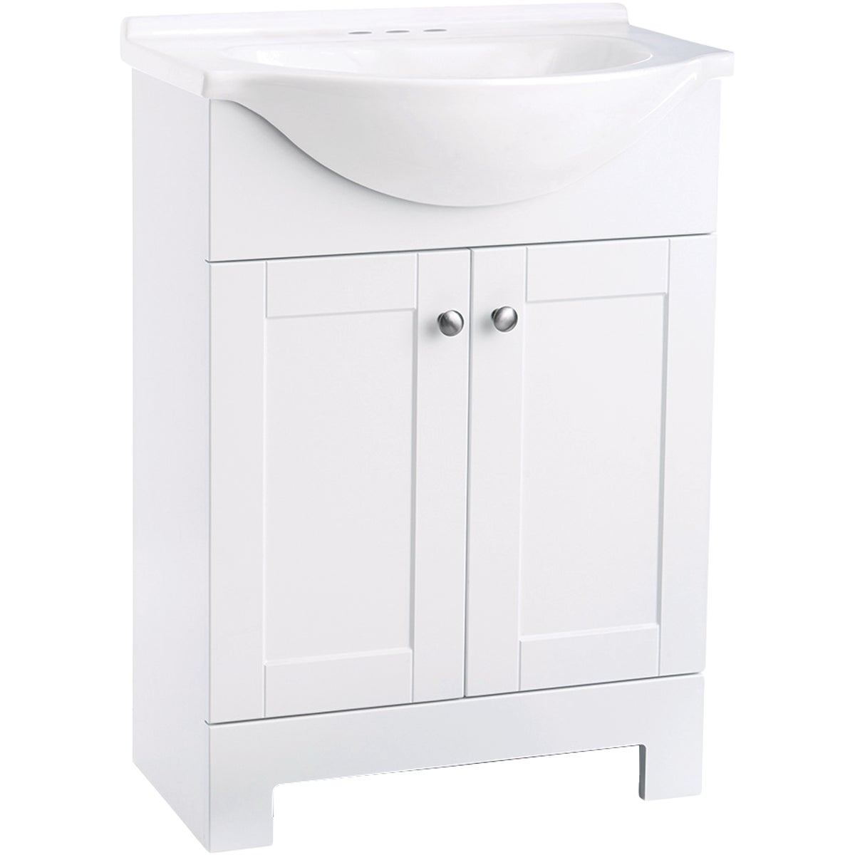 WHITE VANITY COMBO - 541656 by Design House  Dhi
