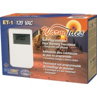 Easy Heat Inc. NON-PROGRAMBL THERMOSTAT ET1