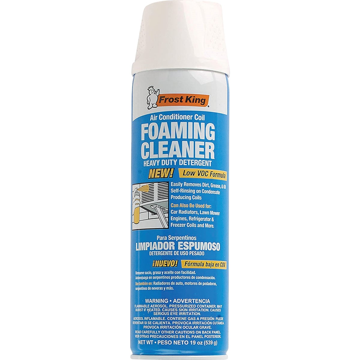 19OZ FOAM COIL CLEANER - ACF19 by Thermwell Prods Co