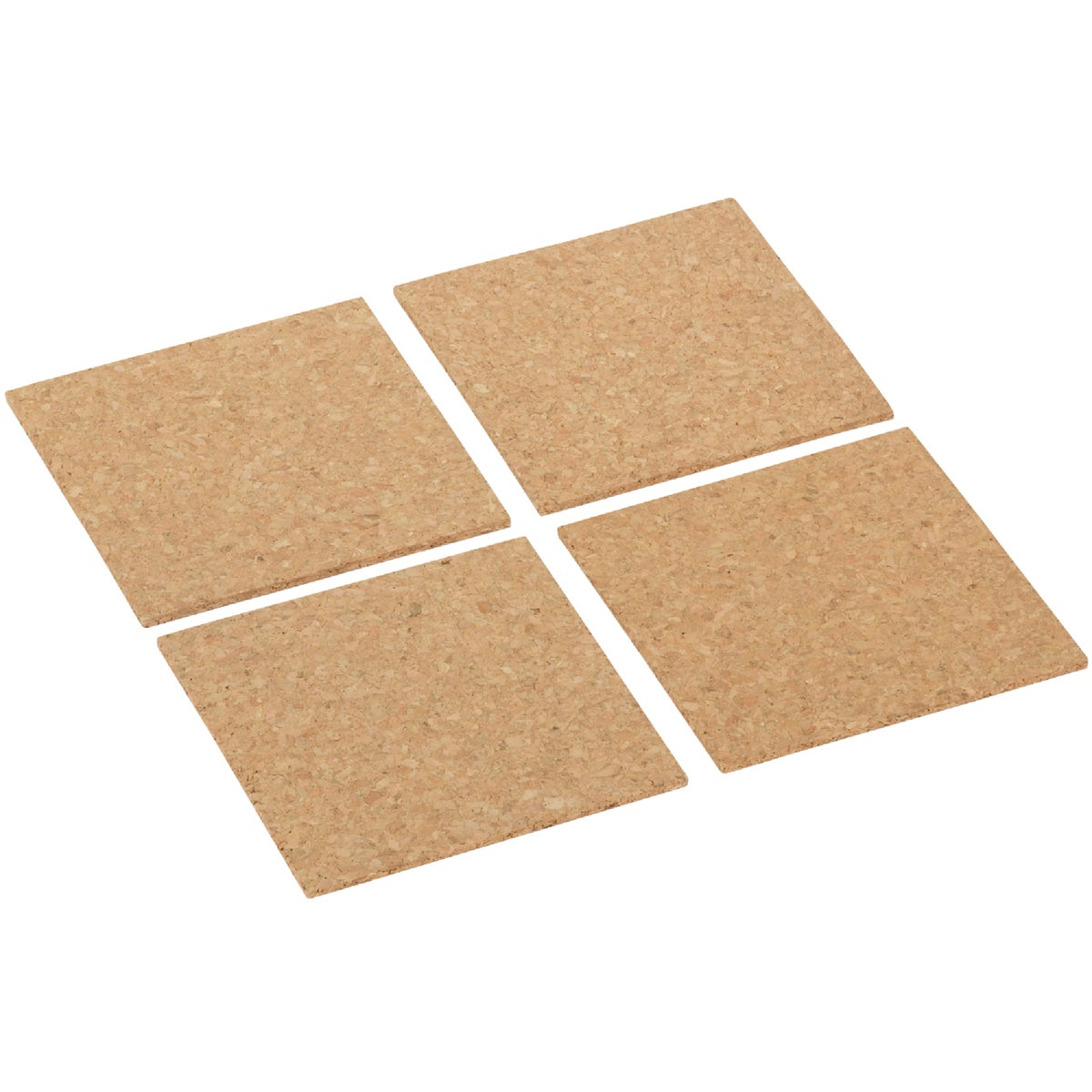 6X6 LIGHT TILE CORK - 72 by Board Dudes Inc
