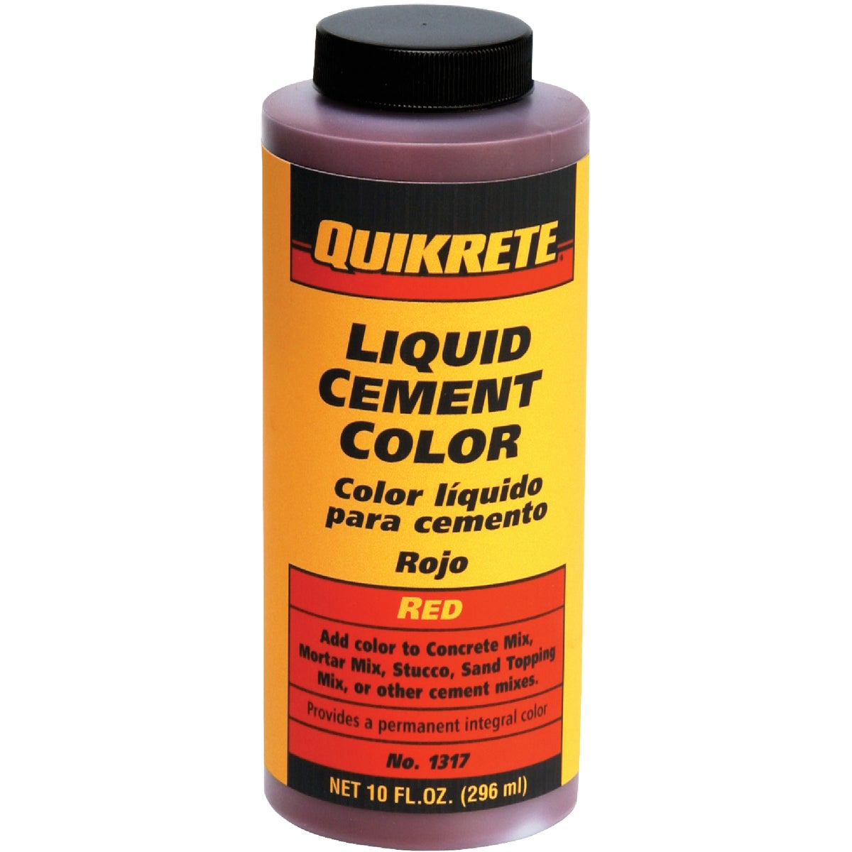 RED LIQUID CEMENT COLOR