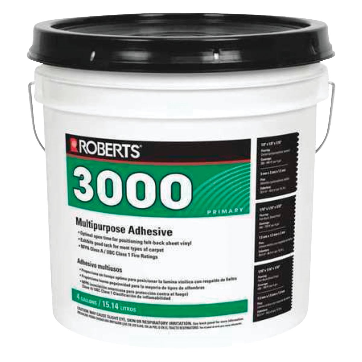 4GAL MULTI-PURP ADHESIVE - 3000-4 by Qep Co Inc Roberts