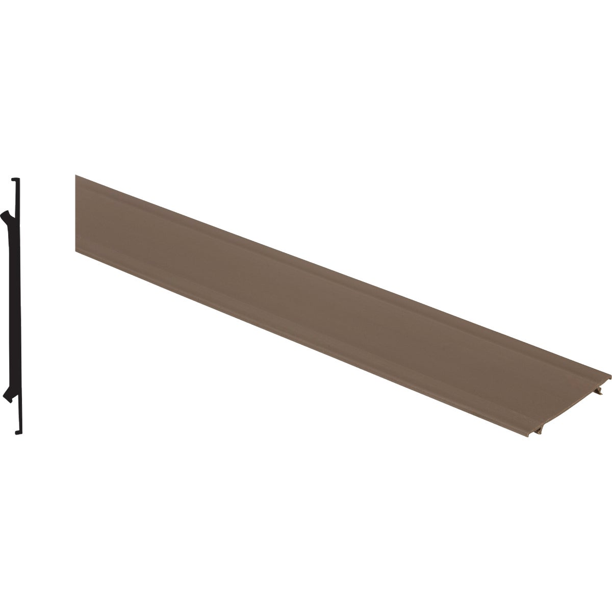 "3-1/2""X8' BROWN CAP - BRCAP38 by Screen Tight"