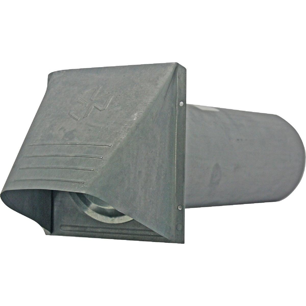 "4"" GALV DRYER VENT HOOD - 010889 by Builders Best"
