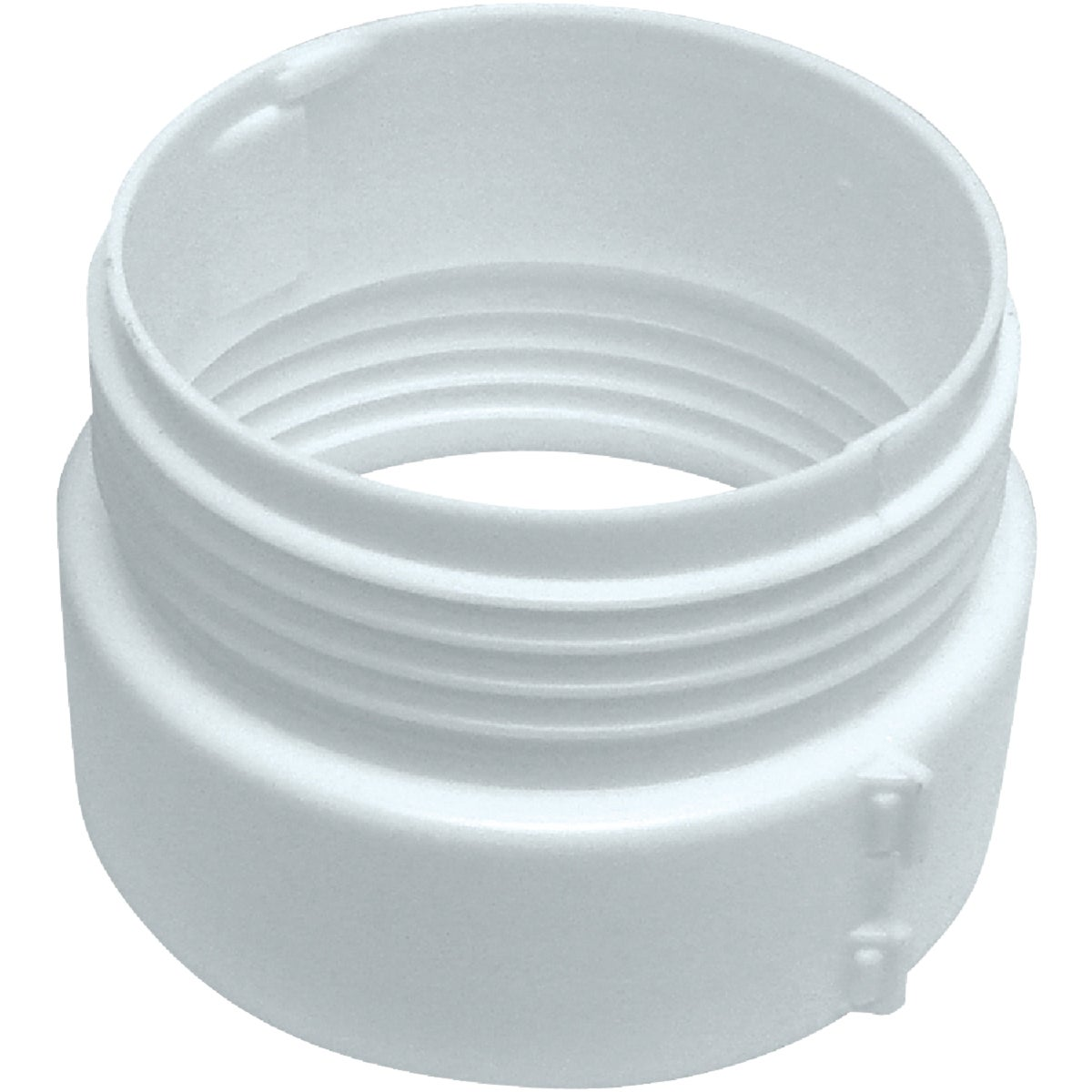 "4"" WHITE DUCT CONNECTOR"