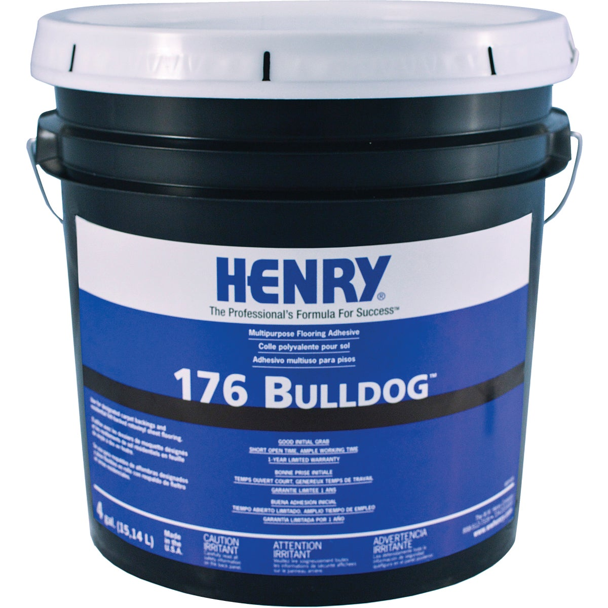 4GAL H176 MP ADHESIVE - 11987 by Henry W W Company