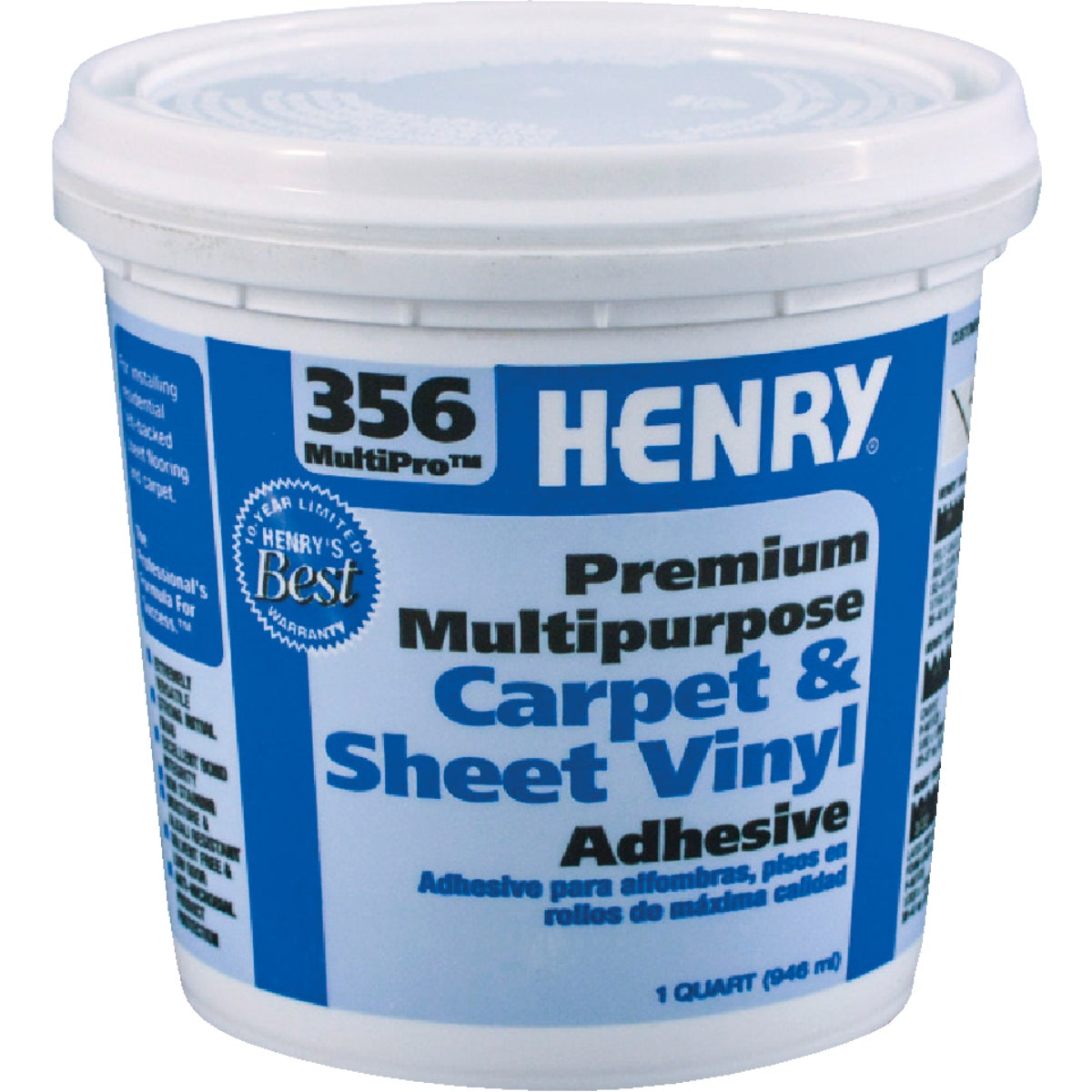 QT H356 MP FLOR ADHESIVE - 12072 by Henry W W Company