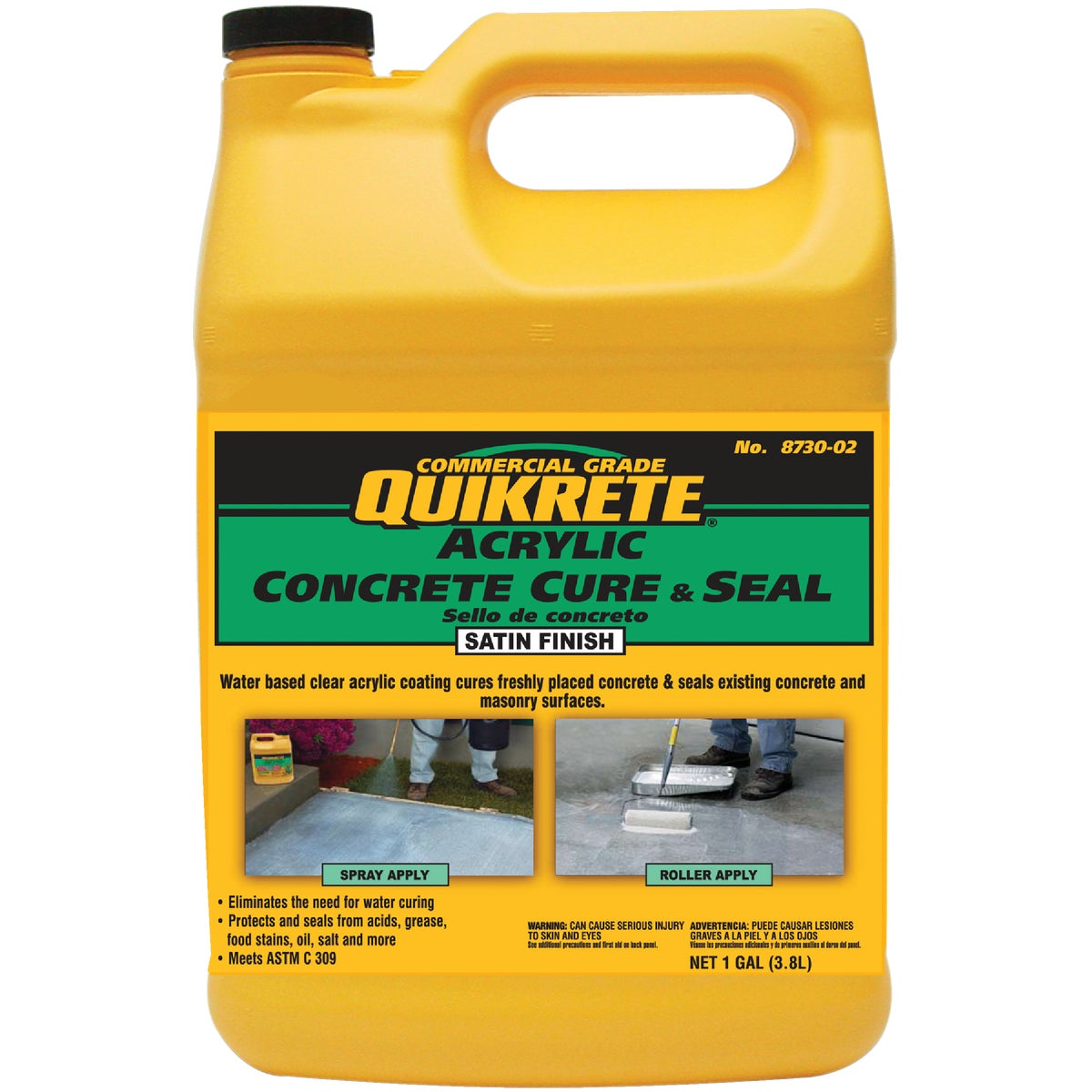 GAL CONCRETE CURE & SEAL - 873002 by Quikrete Co