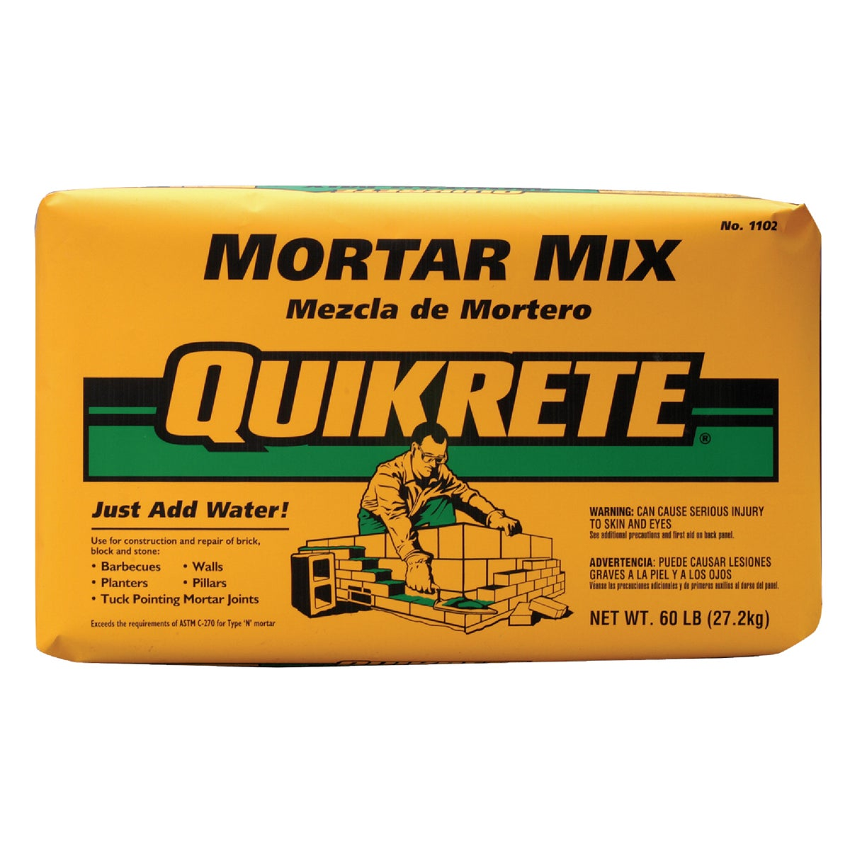 60LB MORTAR MIX - 110260 by Quikrete Co