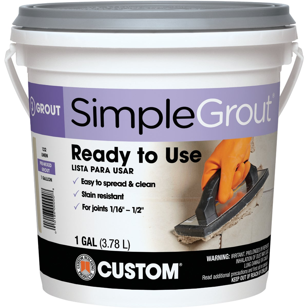 GL NAT GRAY PREMIX GROUT - PMG091-2 by Custom Building Prod