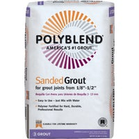 Custom Building Products Polyblend Sanded Tile Grout, PBG38025