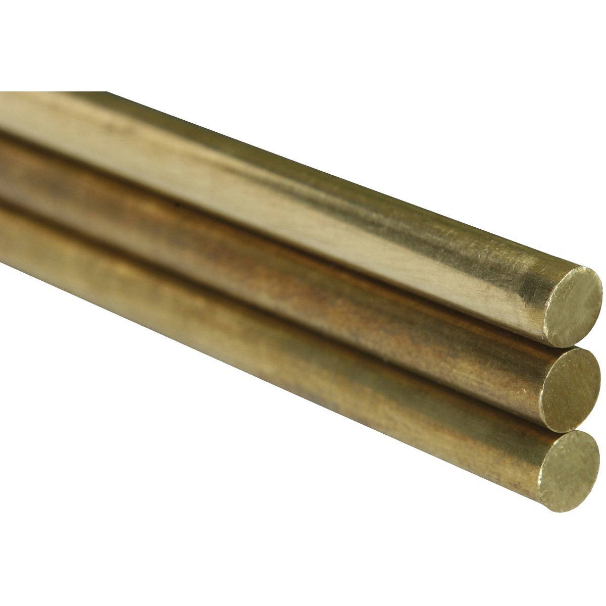 3/16X12 SOLID BRASS ROD - 8166 by K&s Precision Metals