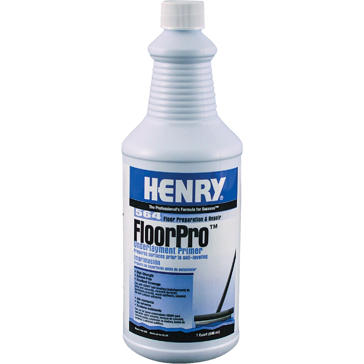 QT H564 FLOORPRO PRIMER - 12166 by Henry W W Company