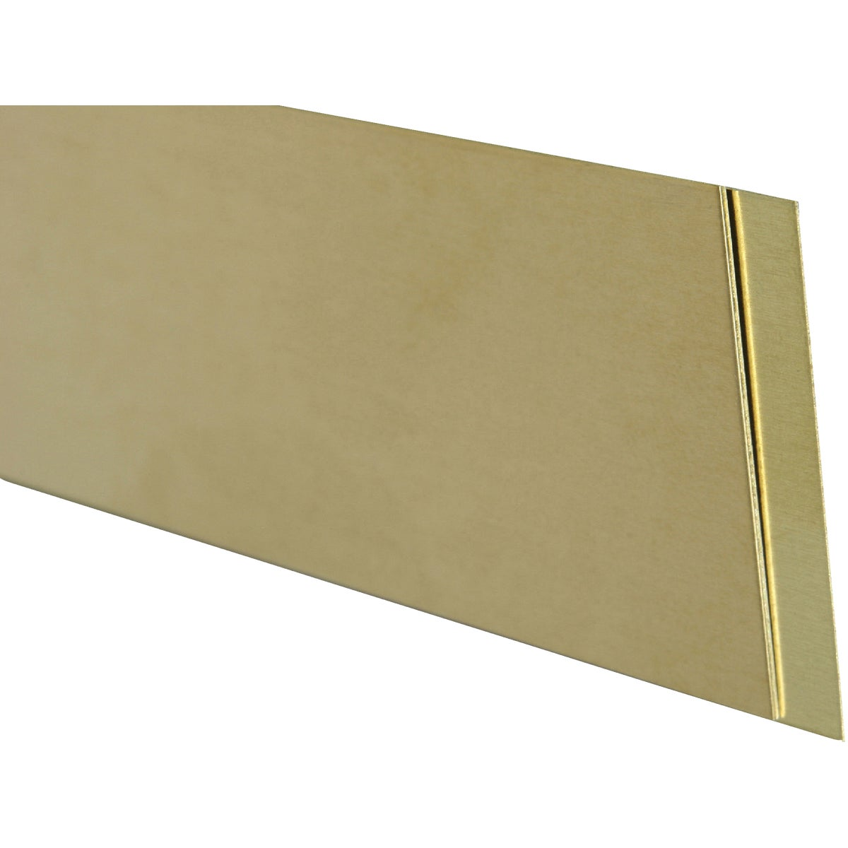 .032X1/2X12 BRASS STRIP - 8241 by K&s Precision Metals