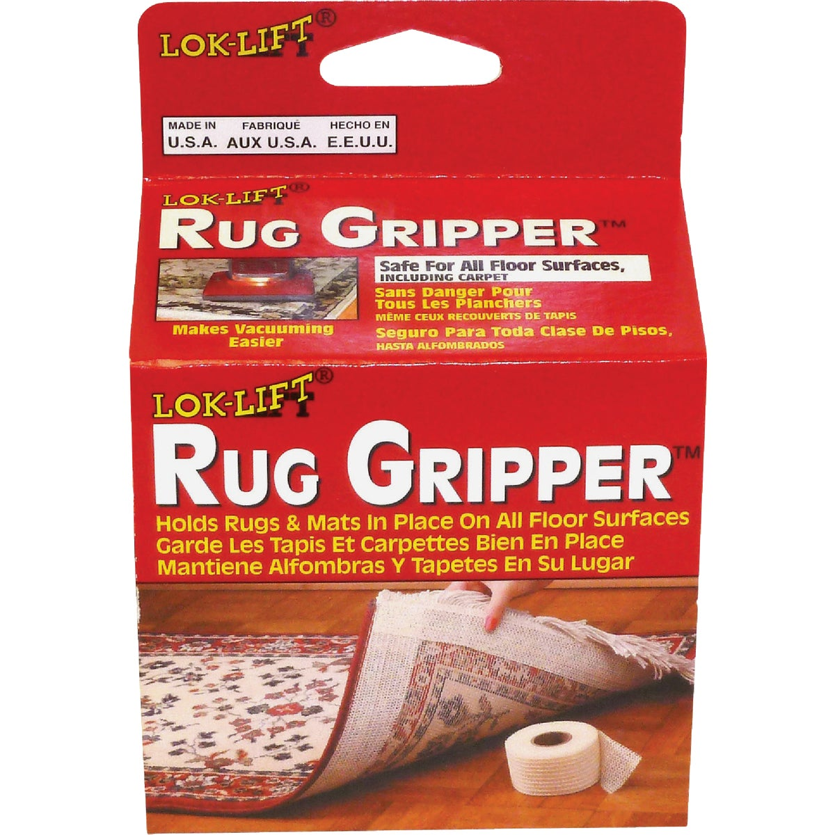 "4""X25' RUG GRIPPER - 425R-6 by Optimum Technologies"