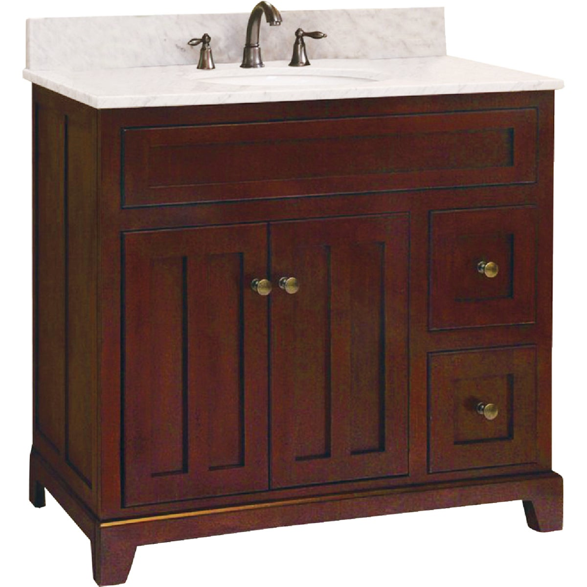 "36"" GRAND HAVEN VANITY - GH3621D by Sunnywood Products"