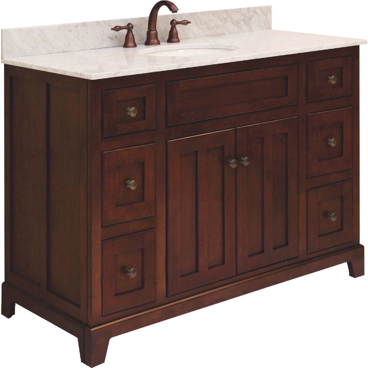 "48"" GRAND HAVEN VANITY - GH4821D by Sunnywood Products"