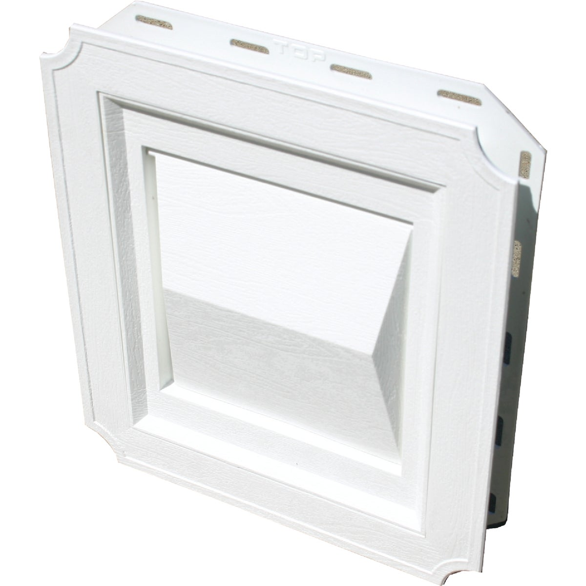 WHITE J-BLOCK VENT HOOD - 011716 by Builders Best